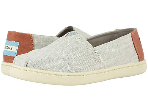 Toms Drizzle Grey Cross Hatch