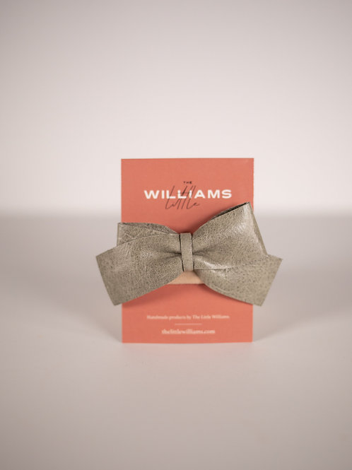 The Little Williams Elliot Smoky Green Bow