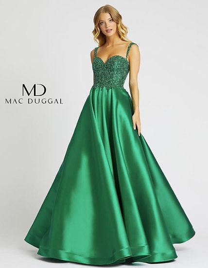 Mac Duggal 67116 Emerald Green