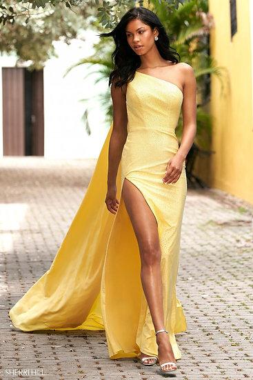 Sherri Hill 54429 Yellow