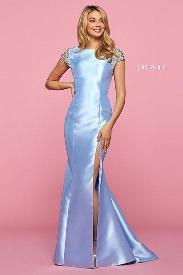 Sherri Hill 53335 Light Blue