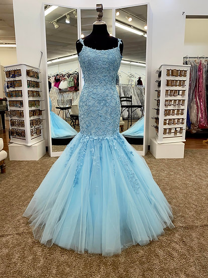 Sherri Hill 53826 Light Blue