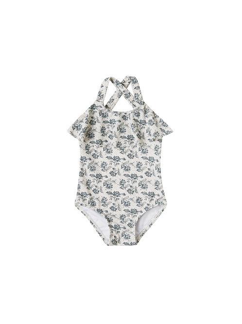 Rylee & Cru Roses Ruffle Swimsuit