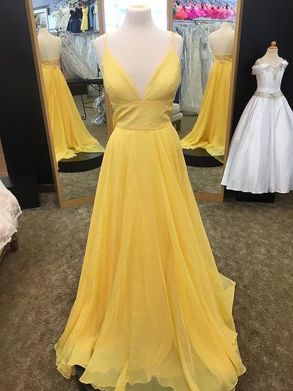 Sherri Hill 53634 Yellow