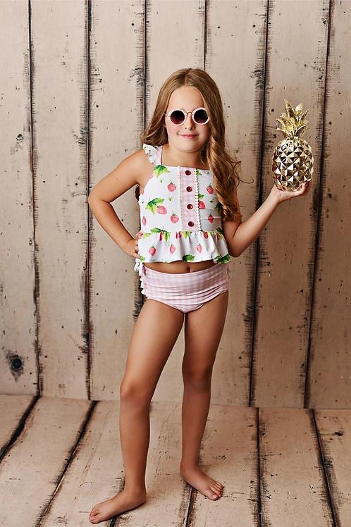 Swoon Baby Strawberry Fields Two Piece Tunic Swimmy