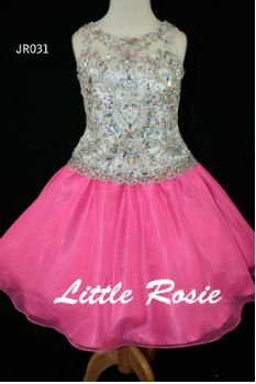 Little Rosie JR031 White/Pink