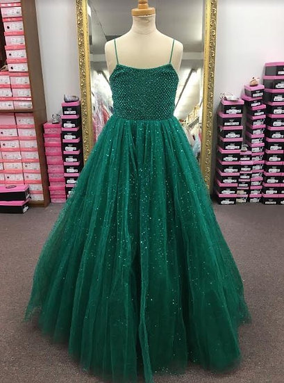 Sherri Hill K53843 Emerald