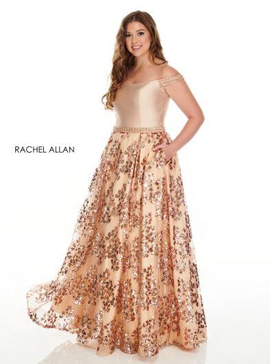 Rachel Allan 7218 Rose Gold
