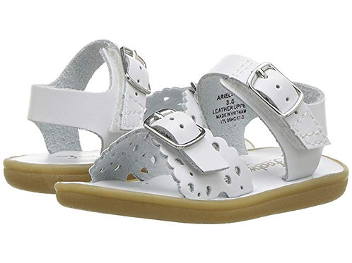 Footmates Ariel Sandal White