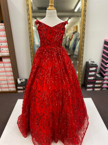Sherri Hill K54352 Red