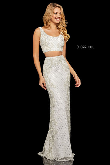 Sherri Hill 52686 Ivory