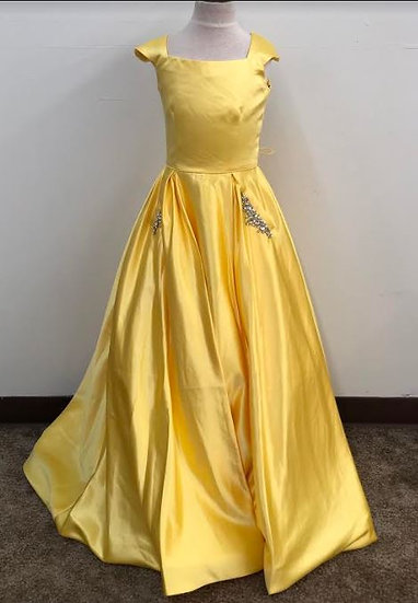 Sherri Hill K53840 Yellow