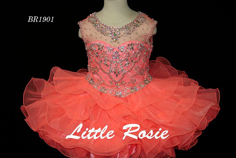 Little Rosie BR1901 Neon Coral