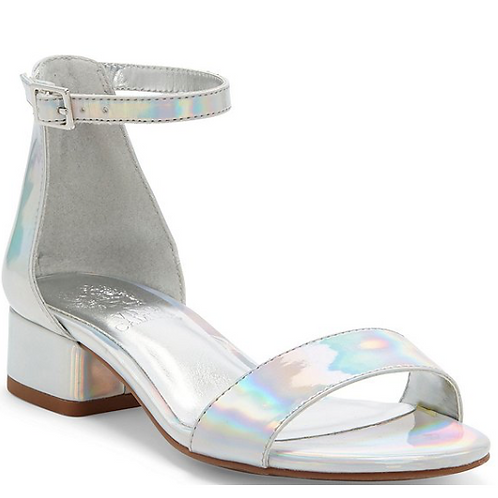 Vince Camuto Pascala Silver Iridescent Prism Wedge
