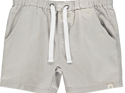 Me & Henry Hugo Twill Shorts Pale Grey