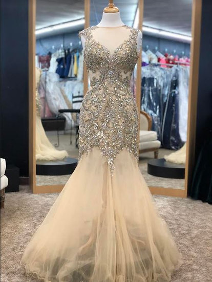Jasz Couture 5349 Gold