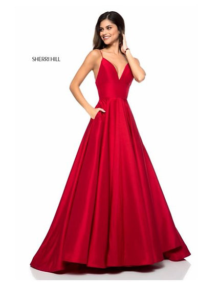 Sherri Hill 51822 Red