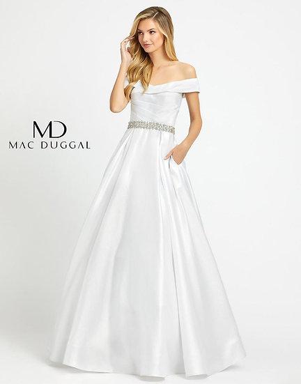 Mac Duggal 48926 White
