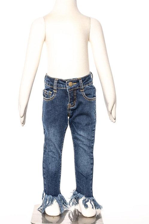 M.L. Kids Shaggy Bottom Jeans Light Wash