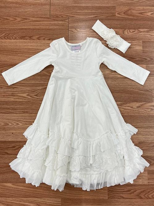 Serendipity Ivory Maxi Dress