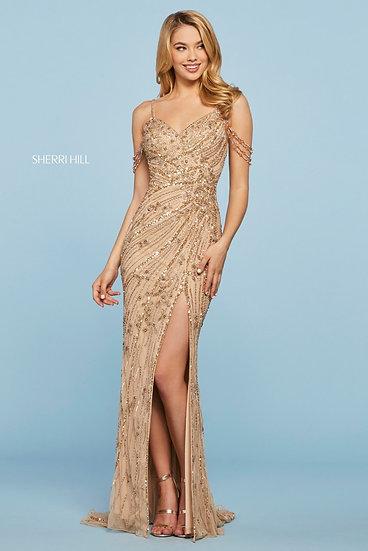 Sherri Hill 53610 Gold