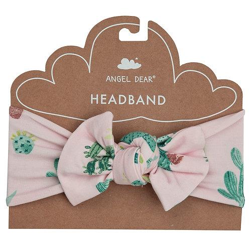 Angel Dear Cactus Pink Headband Pink