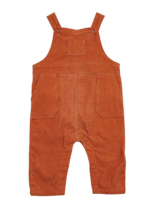 Angel Dear Corduroy Coverall Rust