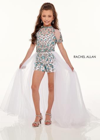 Rachel Allan 10006 White/Multi