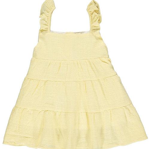 Vignette Layla Dress Yellow