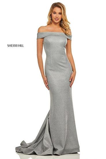 Sherri Hill 52825 Electric Silver
