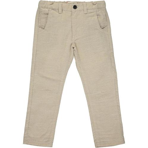 Me & Henry Antony Soft Cotton Pants Stone