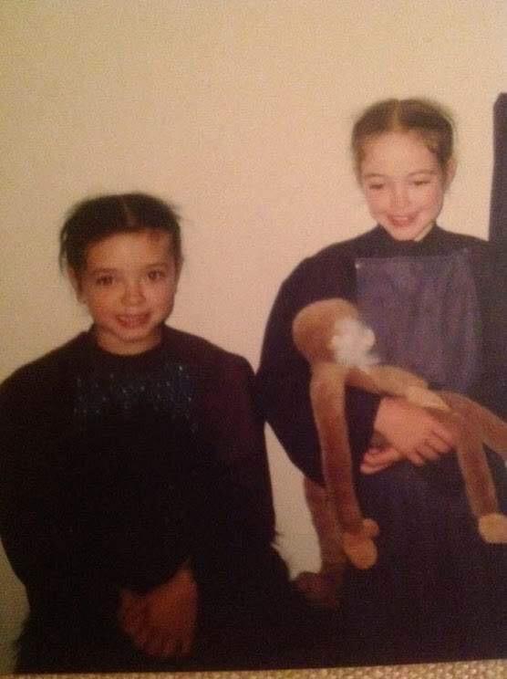 Emma and her older sister