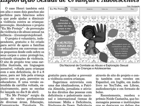 Eu Me Protejo na Gazeta da Zona Norte