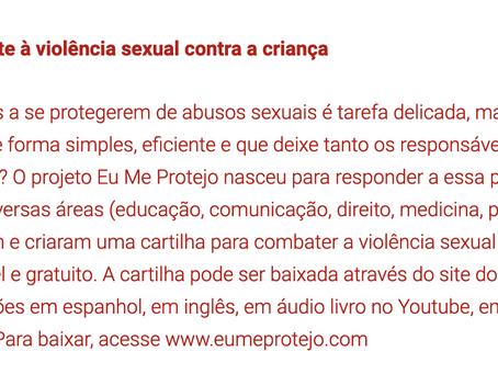 Cartilha de combate à violência sexual contra a criança - Aventuras Maternas