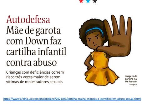 Folha SP - Cartilha ensina crianças a identificarem abuso sexual