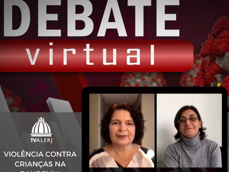 Eu Me Protejo no Debate Virtual da TV Alerj