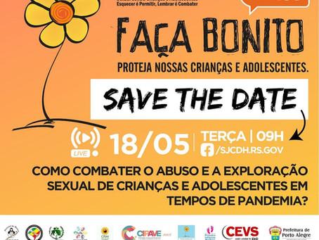 Eu Me Protejo em evento da Secretaria de Justiça, Cidadania e Direitos Humanos do Rio Grande do Sul