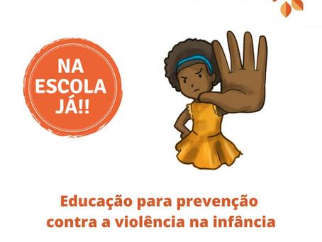 A educação para prevenção contra a violência na infância tem que estar na escola