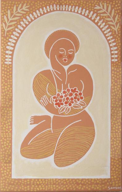 Terracotta deva