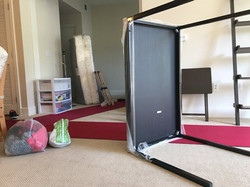 Red carpet to keep your home clean