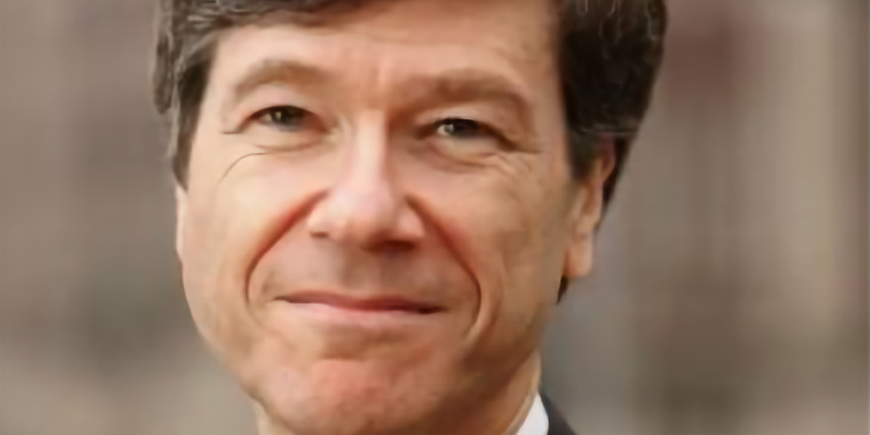 A Conversation with Professor Jeffrey Sachs
