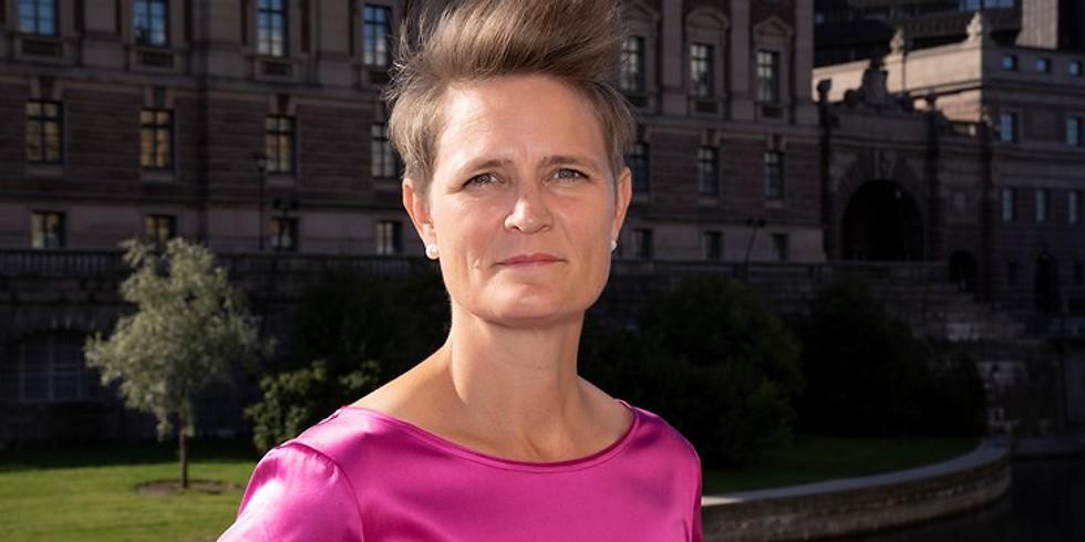 A Conversation with Ambassador of Sweden, Johanna Teague