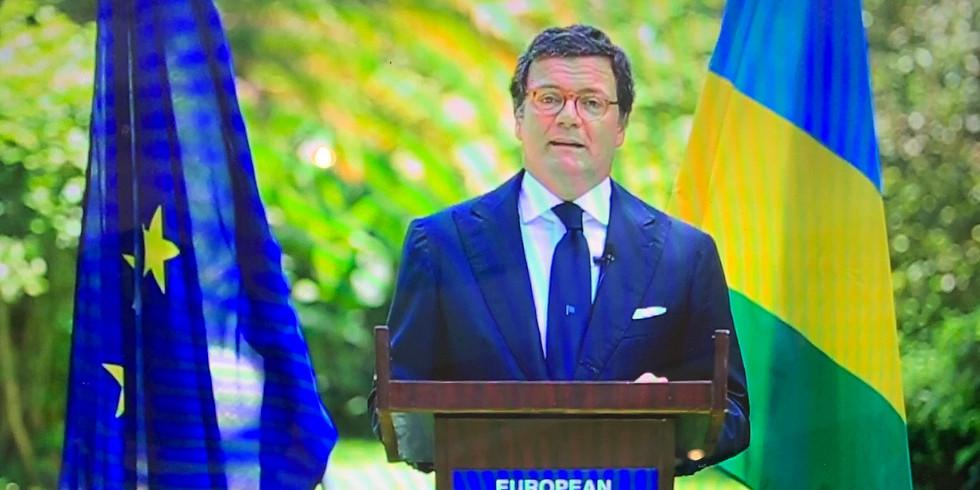 A conversation with the Ambassador of the European Union, Nicola Bellomo