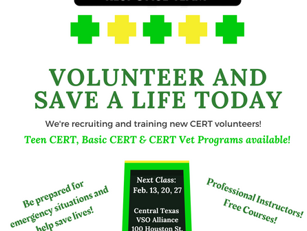 Volunteer & Save A Life Today!