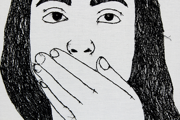 Hush (detail 1)
