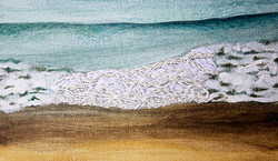 Waves are what I heard (detail 1)
