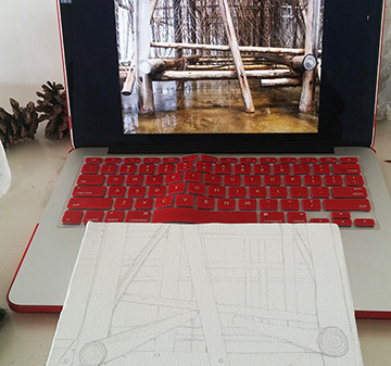Work continued during Japan residency