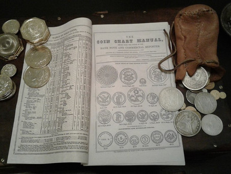 Money in the Old West: Coins of America's Dramatic 1840s-1870s