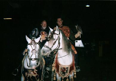 Falconer at Medieval Times