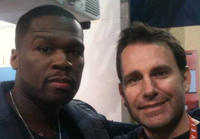 Did a video with 50 Cent at CES